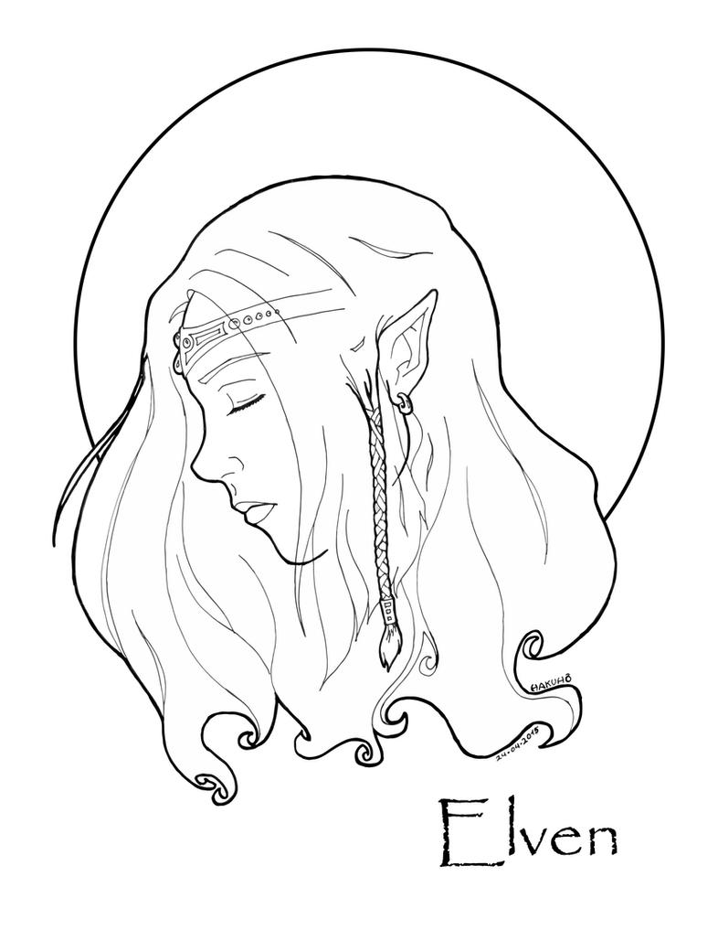 Elven by HakuhoNoKaze