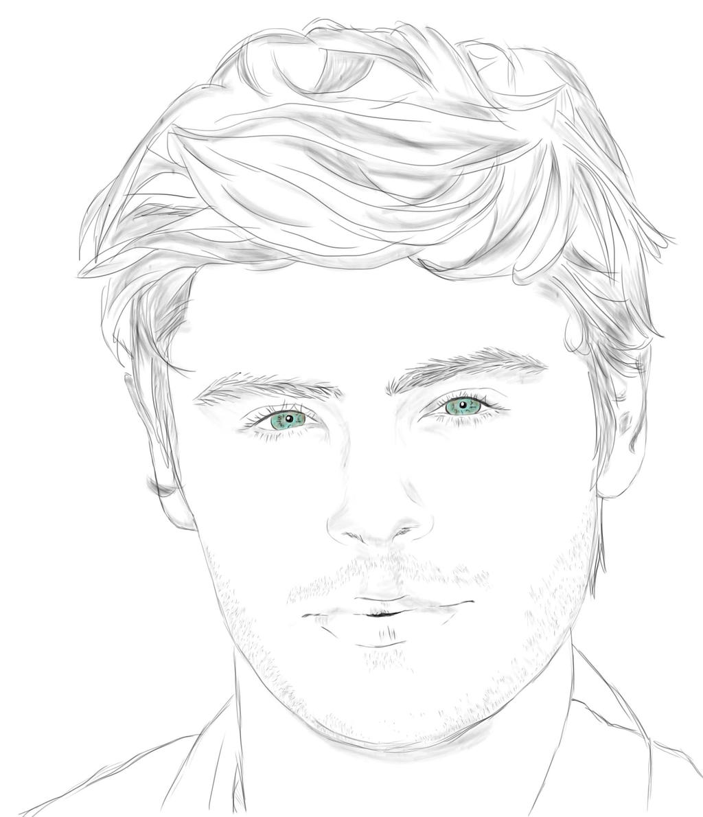 zac efron coloring pages - photo #31
