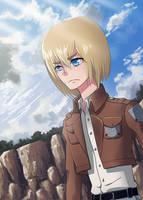 Shingeki No Kyojin: Armin Arlert by CowniCorn