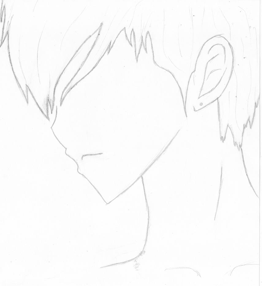 anime male face - 900×983