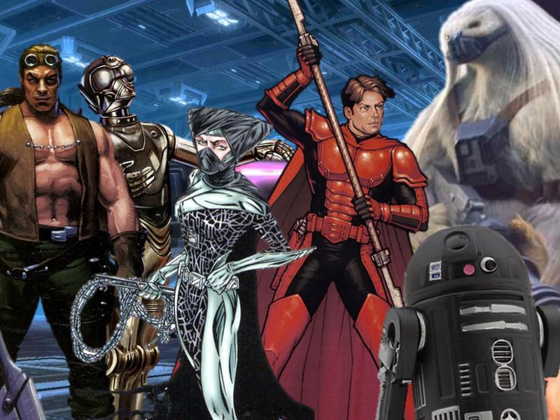 Dark Star Warriors by SaiyanOverlord