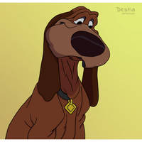 Trusty from Lady and the Tramp