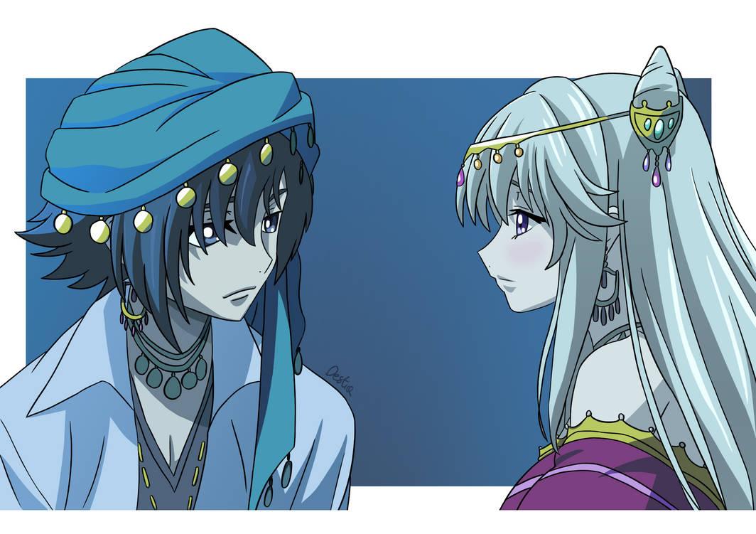 Akito x Leila