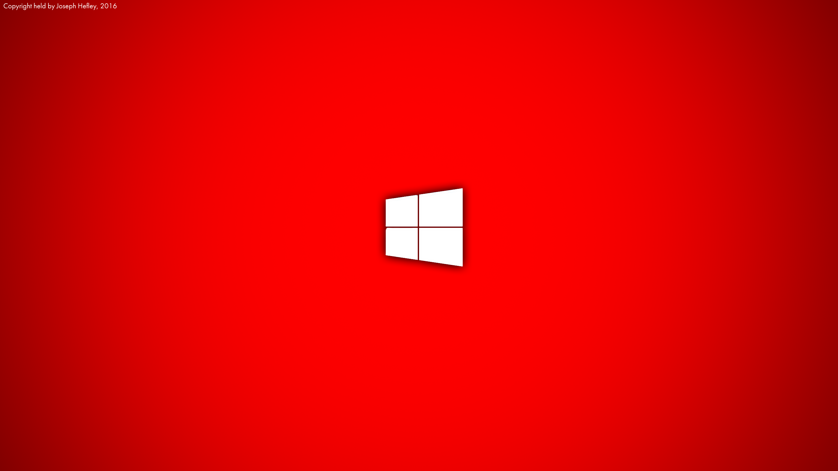 Red Windows 10 Wallpaper (3K/HD) by JoeTPB on DeviantArt