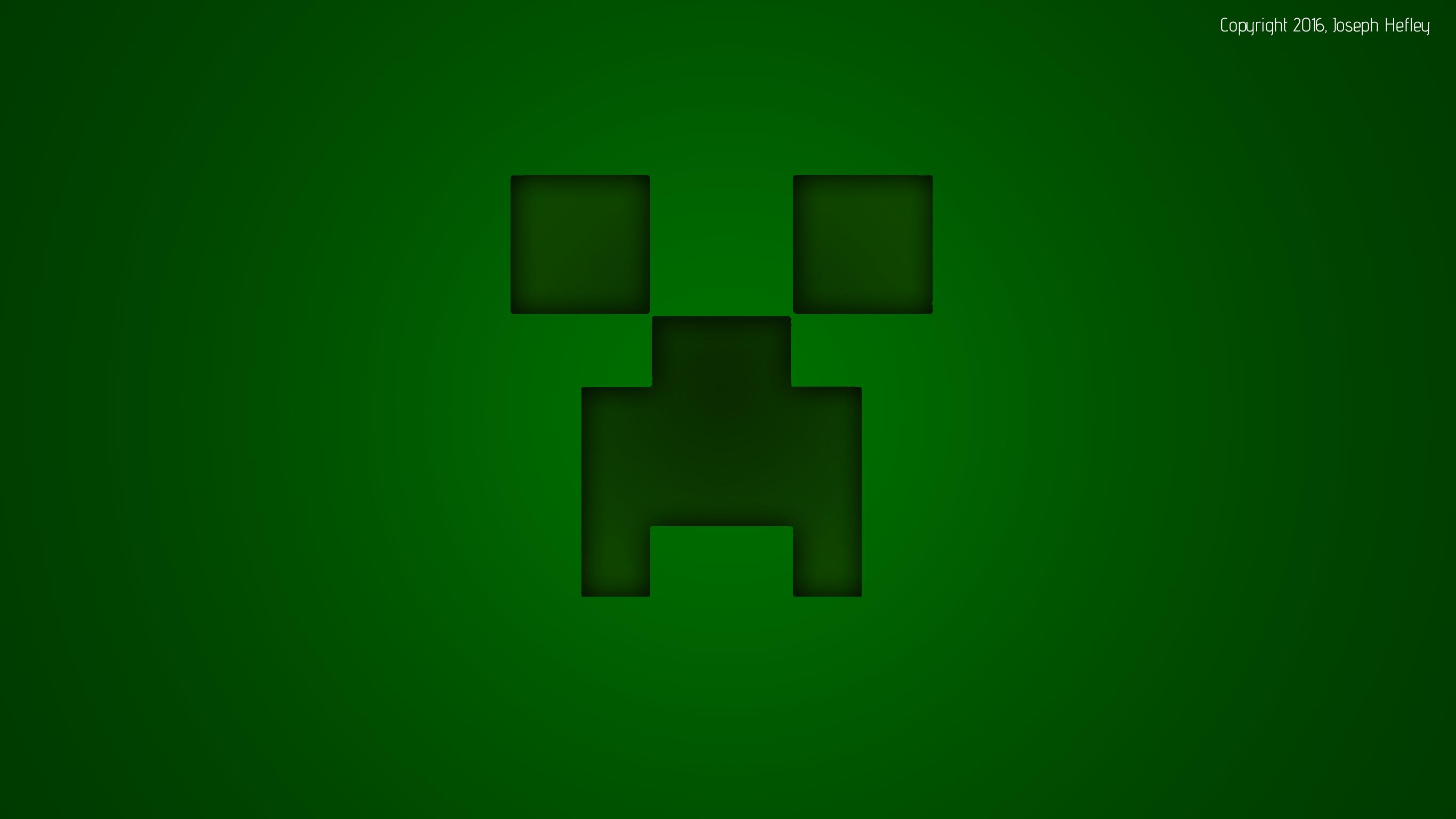 ... Minecraft Creeper Wallpaper (2K SuperHD) by JoeTPB