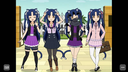 Flora's Wardrobe Update by KawaiiMichie