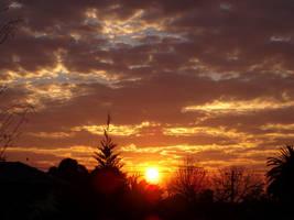 autumn sunsets by ramen-shop