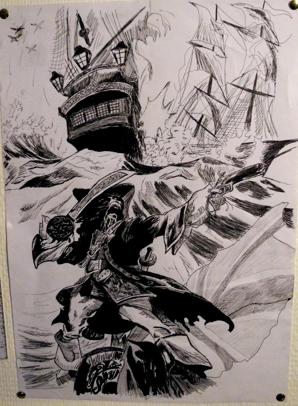 A Pirate's Tale (Long John Silver t.2) by Tigrex-noir
