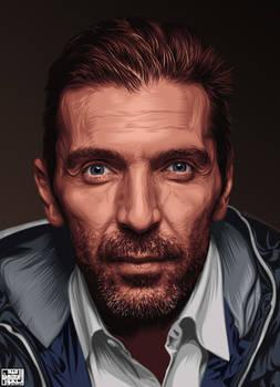Gianluigi Buffon - Digital art .vector art.