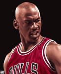 Michael Jordan - Realism Painting