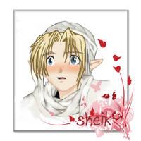 Zelda: SHeIk BlusH by xIchixCoolxGirlx