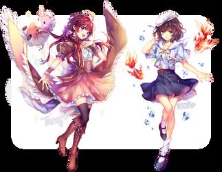 Raffle Prizes by yulipo
