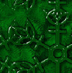 Green Xmas tile by Taboon1