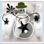 Silvern White Snowman by Taboon1