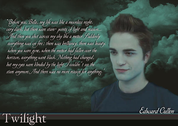 love quotes from edward cullen quotesgram