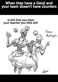 How Zenyatta actually feels about his student