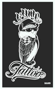 Owl / Fame Tattoo
