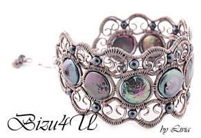BRANSOLETA 'DANNATA' by bizuteria-bizu4u