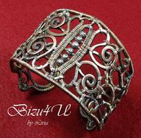 BRANSOLETA AZTECA- ARCHEOLOGY by bizuteria-bizu4u