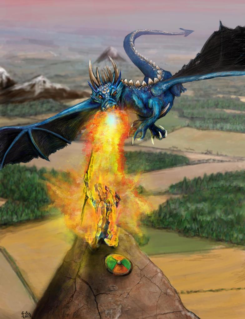 Dragon-Burn by hellknite