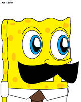 Weegeefied SpongeBob by AngusMcTavish