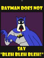 Batman Bleh by AngusMcTavish