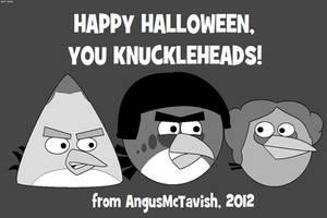 Halloween 2012 - Angry Birds vs. Three Stooges by AngusMcTavish