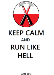 Keep Calm and Run Like Hell by AngusMcTavish
