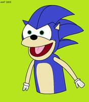Sonic Puppet by AngusMcTavish