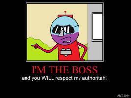 Benson's Authoritah by AngusMcTavish