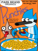 Punchies Cereal Box by AngusMcTavish