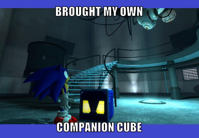 Gmod Sonic Cube by AngusMcTavish