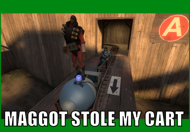 Maggot Stole My Cart by AngusMcTavish