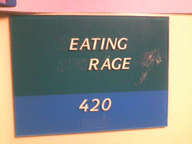 Sign Humor - Eating Rage by AngusMcTavish