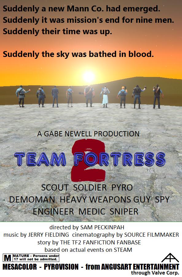 TF2 Movie Poster Spoof by AngusMcTavish