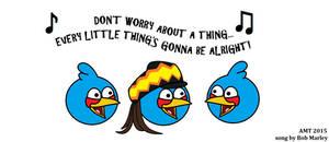 Three Little Birds by AngusMcTavish