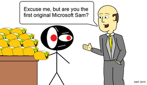 Sam Meets Sam by AngusMcTavish