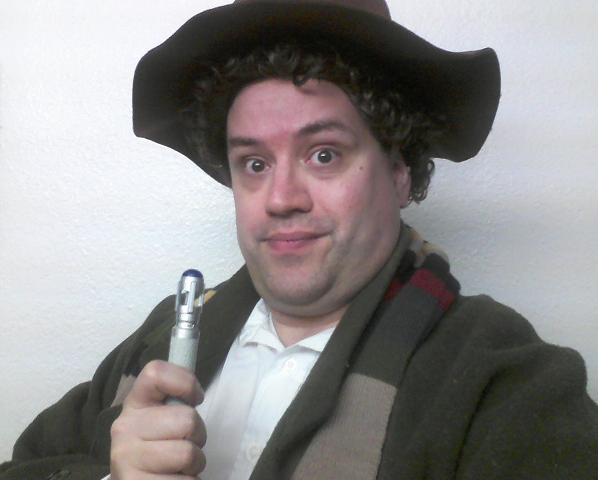 Makeshift Fourth Doctor Costume by AngusMcTavish