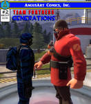 Team Fortress Generations 2 - Soldiers Cover