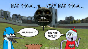 Run, You Fools!!! by AngusMcTavish
