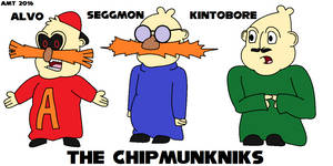 Alvo and the Chipmunkniks by AngusMcTavish