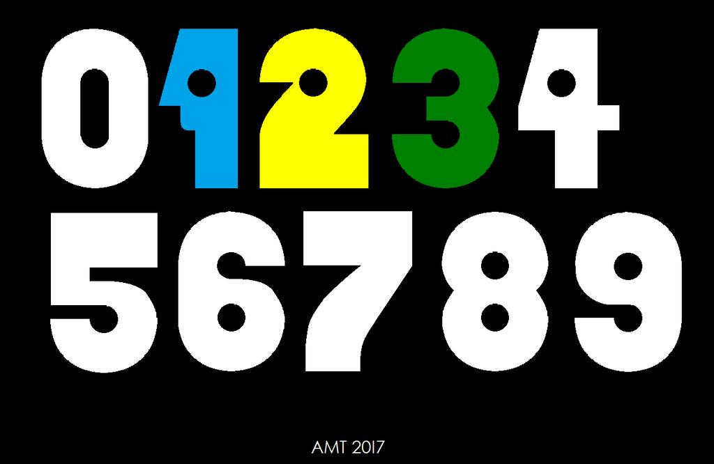 H Alphabet Wallpaper PBS 1971 Numerals by A...