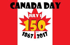 Canada Day 150th Anniversary by AngusMcTavish