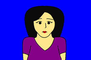 Natural Mary Sad by AngusMcTavish