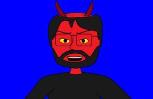 Evil Matt Laughing by AngusMcTavish
