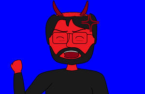 Evil Matt Tantrum by AngusMcTavish