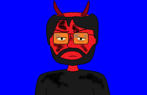 Evil Matt Post-Tantrum by AngusMcTavish
