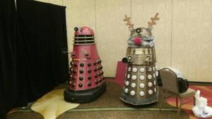 Dalek Models by AngusMcTavish