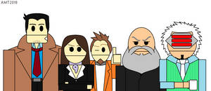 Ace Attorney CDN - Other Characters by AngusMcTavish