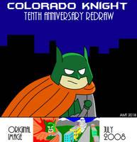 Colorado Knight: 10th Anniversary Redraw by AngusMcTavish
